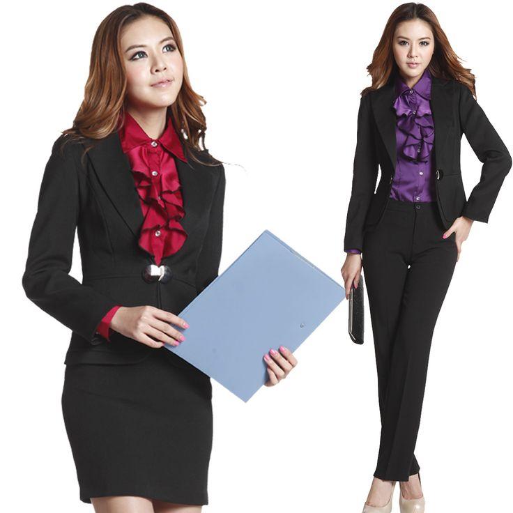 Ladies Office Wear | Ladies Office Uniform Wear-Buy Cheap Ladies Office Uniform Wear lots ...