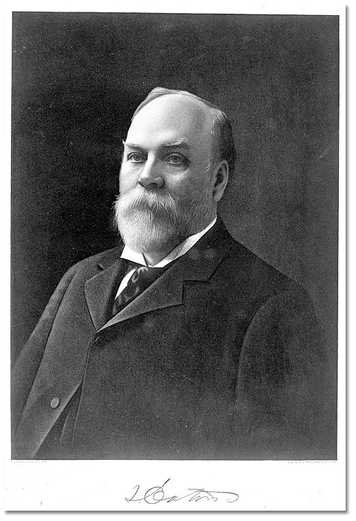 Timothy Eaton, 1890, founder of Eaton's Department Stores.
