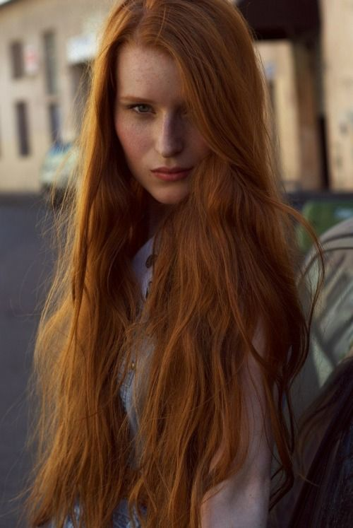 Redhead With Long Red Hair  Rareredheads Pinterest