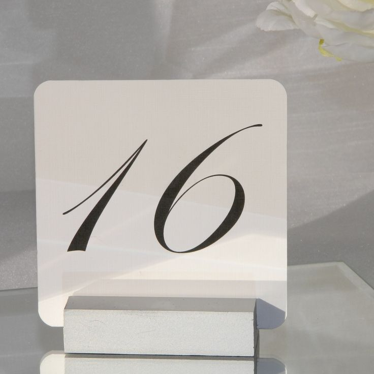 wedding table name card size%0A Silver Table Number Holder