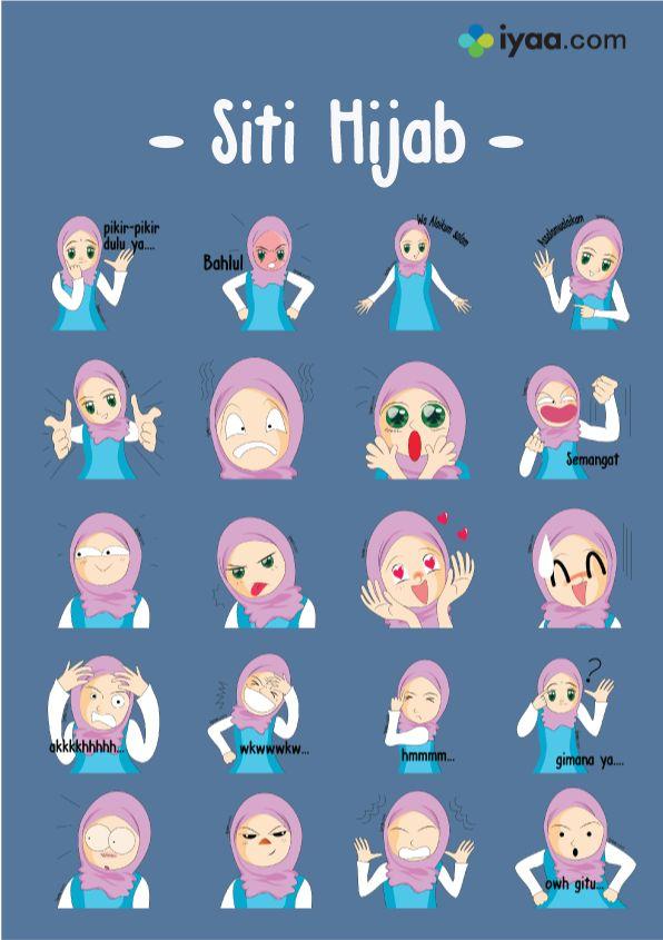 Assalamu Alaikum ...Siti mau menghiasi suasana hati kalian lewat chatingan ..yuk di download ya...!!