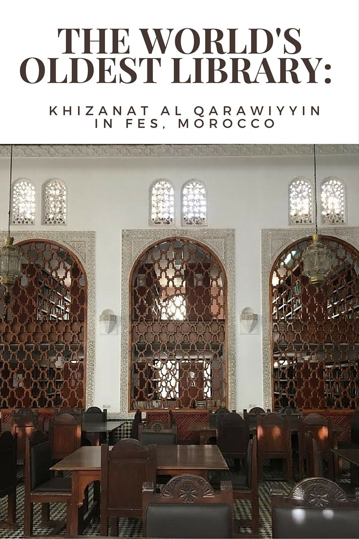 Take a peek inside Khizanat al Qarawiyyin in Fes, Morocco, the world's oldest library.