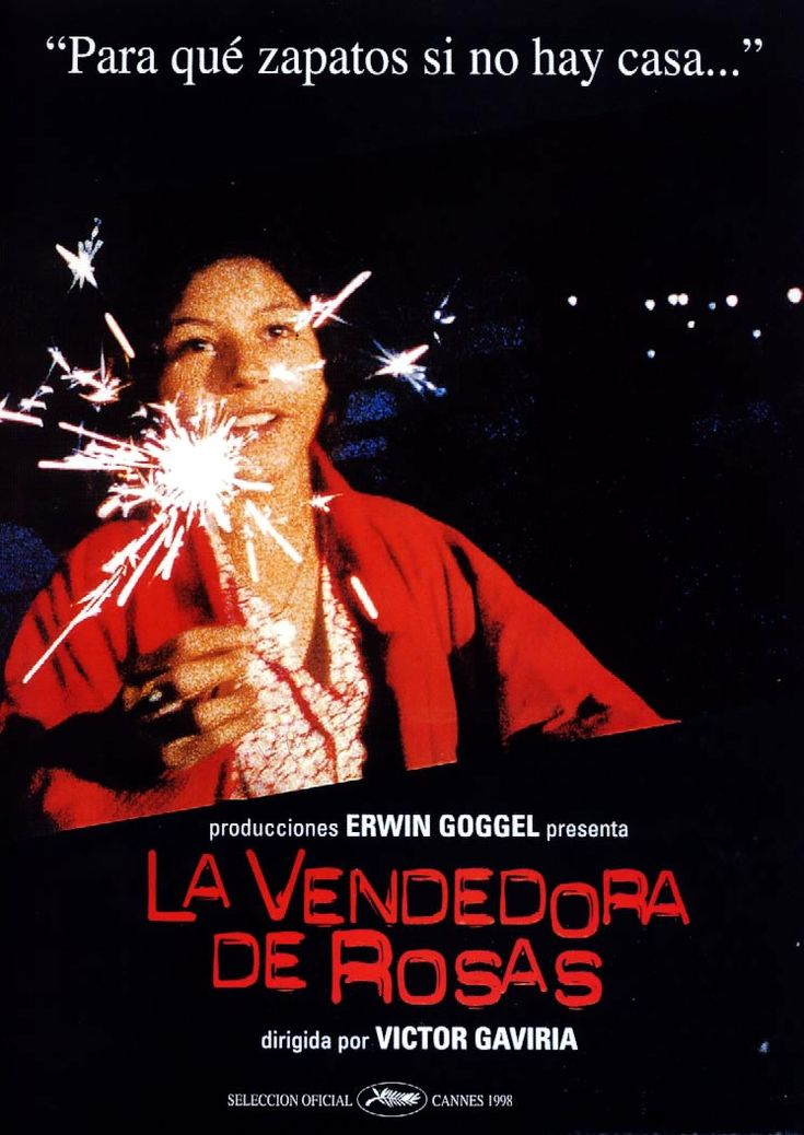 La Vendedora de Rosas. Victor Gaviria. 1998.