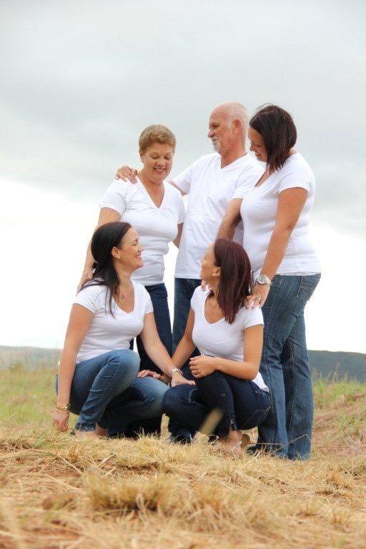 Family photography farm natural