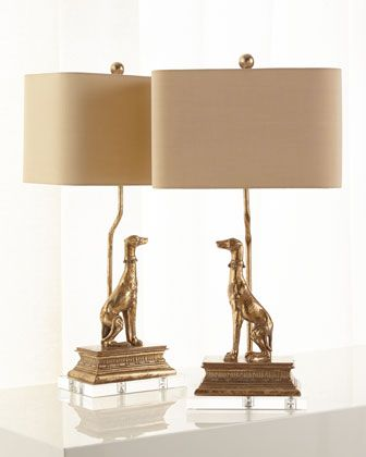 Regal+Dog+Table+Lamps+at+Neiman+Marcus.