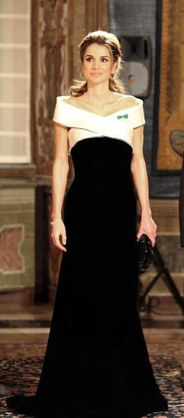 Queen Rania in Armani