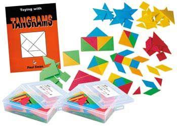 Plastic Tangrams Class Pack