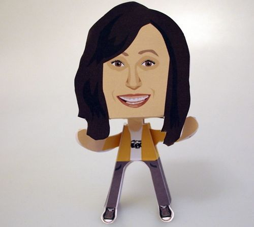 Celia Pacquola Paper People Free Paper Toy Download - http://www.papercraftsquare.com/celia-pacquola-paper-people-free-paper-toy-download.html#CeliaPacquola, #PaperPeople