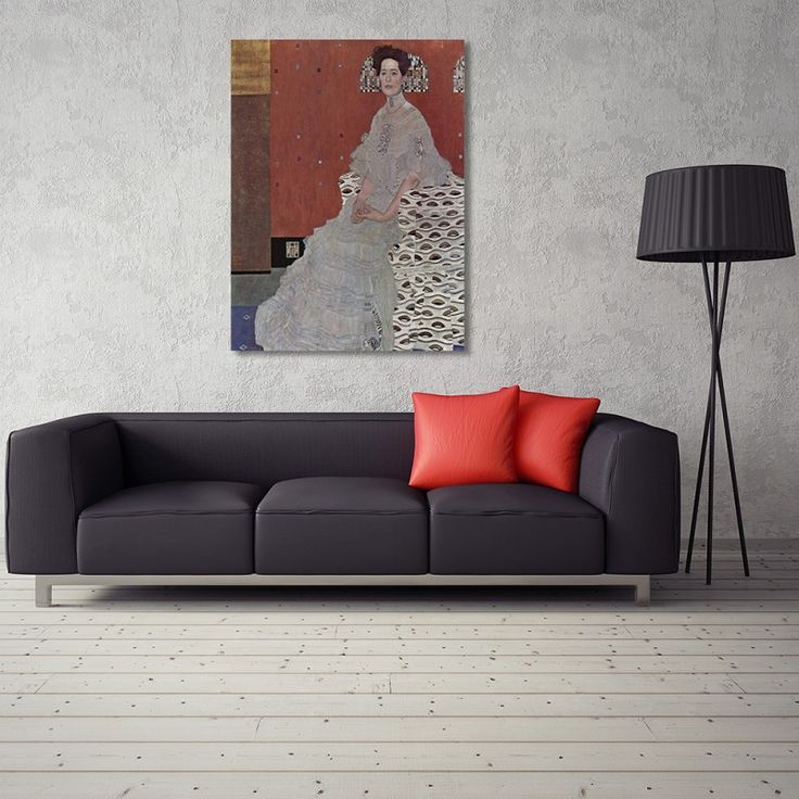Reprodukcja obrazu G. Klimta – Portret Adele Bloch-Bauer II, Obraz na płótnie - Canvas