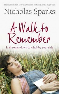 A walk to remember by Nicholas Sparks. This is a great book about having faith, even at times when it seems like there is no hope left.  This is an easy read, perhaps even an airport read, nonetheless, Nicholas Sparks captures his readers' attention with the this beautiful and sad love story.