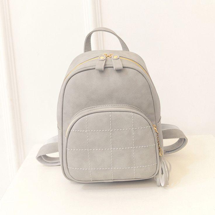 Backpacks Rucksacks Simple Embroidery PU Leather School