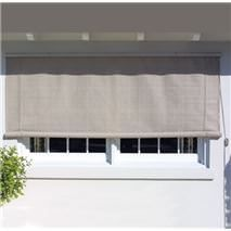 Our beautiful window shade canopies provide sun protection and dress up your window at the same time.