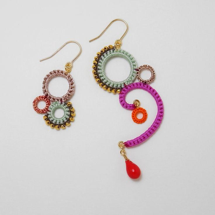 Best 25+ Crochet earrings ideas on Pinterest | Crochet ...