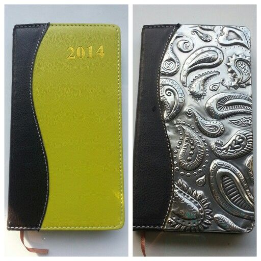 A cheap diary into an expensive diary in 2 hours! By #pewterstudio