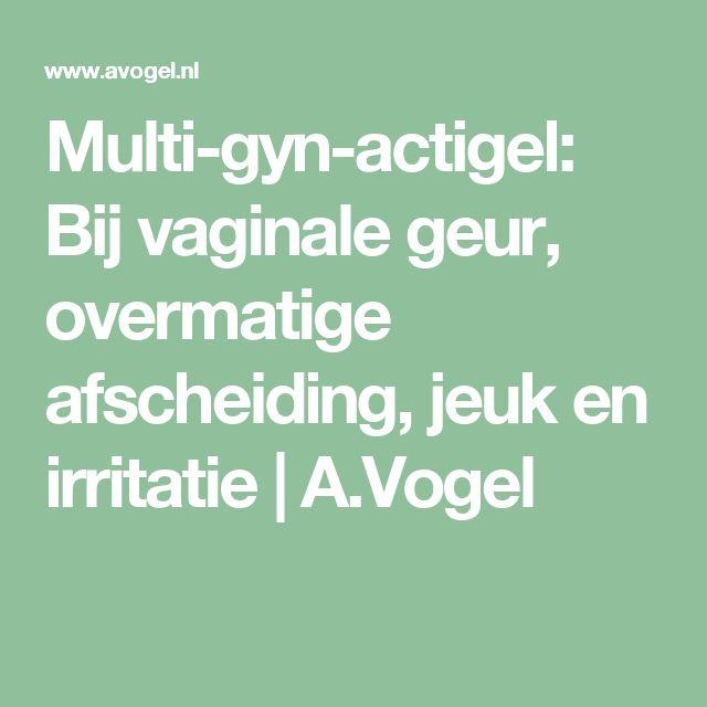 Multi-gyn-actigel: Bij vaginale geur, overmatige afscheiding, jeuk en irritatie   A.Vogel