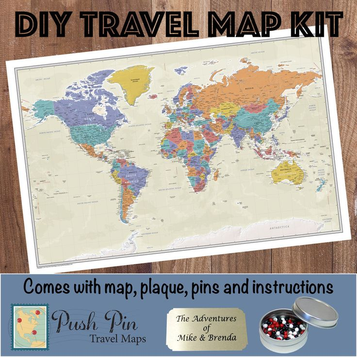1000 images about Our Products Push Pin Travel Maps on – World Travel Map With Push Pins