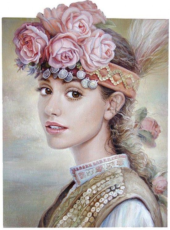 портреты художника Марины Илиевой - 11