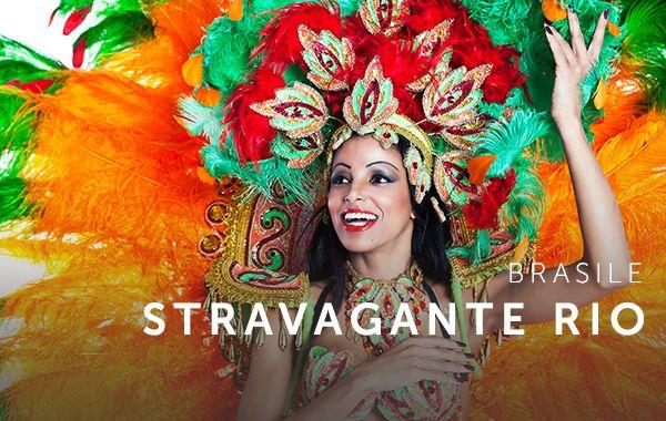 Sfumature arcobaleno, costumi di piume e la spensieratezza che scorre nelle vene. Lo spirito carioca è lo spettacolo del Carnevale di Rio de Janeiro