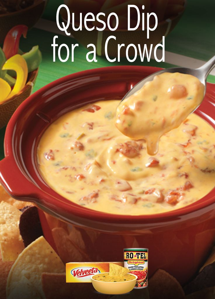 A creamy and spicy dip made with just two ingredients, destined to become your next signature recipe at any Quesoccasion.