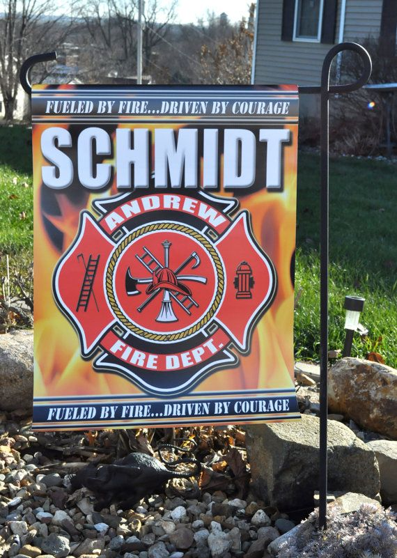 Hey, I found this really awesome Etsy listing at https://www.etsy.com/listing/234811401/firemen-flag-personalized-flag-maltese