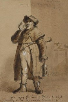 A Baltimore Watchman Alfred Jacob Miller