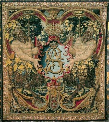 Arras z satyrami tarczownikami, Bruksela, ok.1555 (445x500, 60Kb)