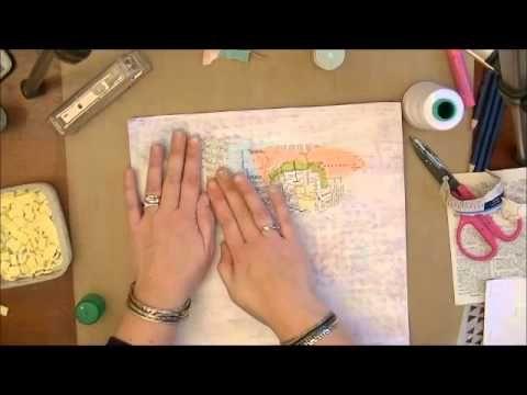 Fiona Paltridge Process Video Pastiche Scrapbook Studio