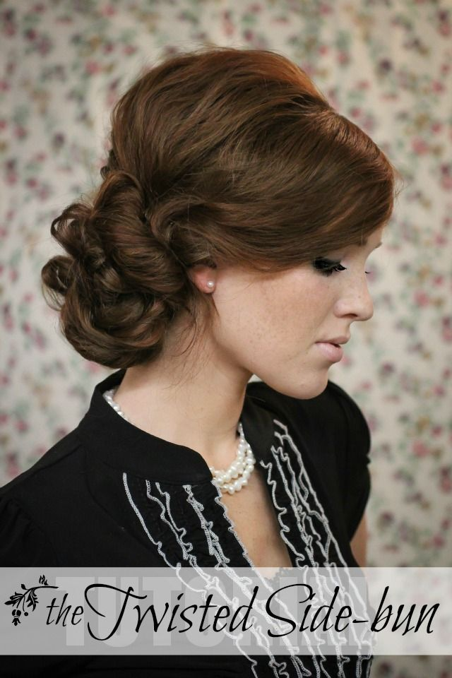 The Freckled Fox A Hairstyle Blog Holiday Hair Week Tutorial 7