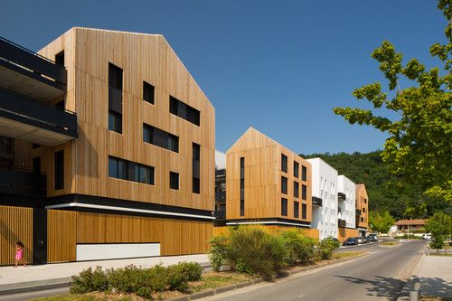 36 logements collectifs et locaux d'activité - Floirac Marjan Hessamfar & Joe Vérons architectes associés
