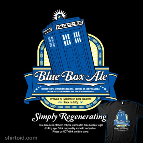 I've got two of these...Time Travel, Blue Boxes, Doctorwho, Doctors Who, Dr. Who, T Shirts, Boxes Ales, Drinks, Time Lord
