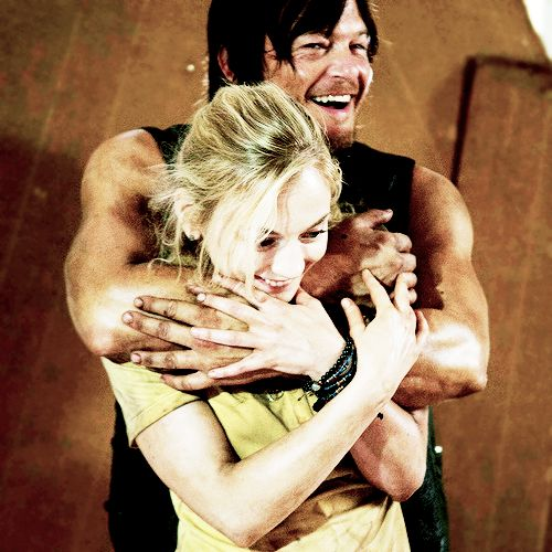 from Rowan do carol and daryl ever hook up