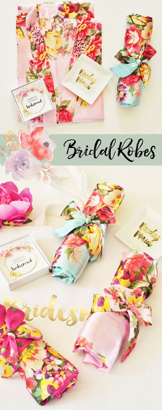 Gorgeous bridesmaid gifts! Beautiful colors & prints - floral & oh-so pretty! #bridesmaids #bridesmaidgifts http://rstyle.me/n/buejxrn2bn