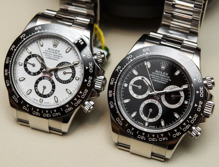 New Rolex Cosmograph Daytona Watch With Black Ceramic Bezel and Updated Movement