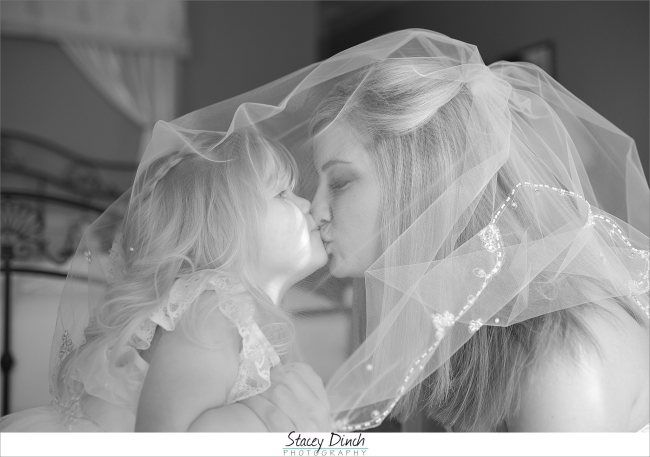 Samantha & Brent Gordonsville, VA Wedding Photo by Stacey Dinch Photography  Love this mother and daughter shot!