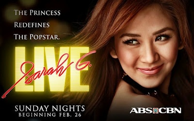 Sarah G Live Evening Musical Show ABS-CBN Kapamilya Network - Television Series