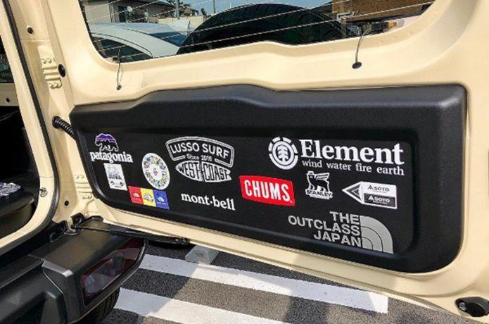 こ こんなワイルドな一面があったなんて アウトドアユースにカスタムされた車4選 Camp Hack キャンプハック ステッカー アウトドア ジムニー 内装 カスタム ジムニー ステッカー
