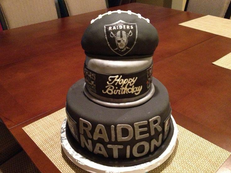 25+ Best Ideas about Raiders Cake on Pinterest Raiders ...