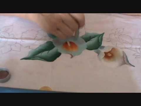 Pintando Copo de Leite Parte II.wmv - YouTube