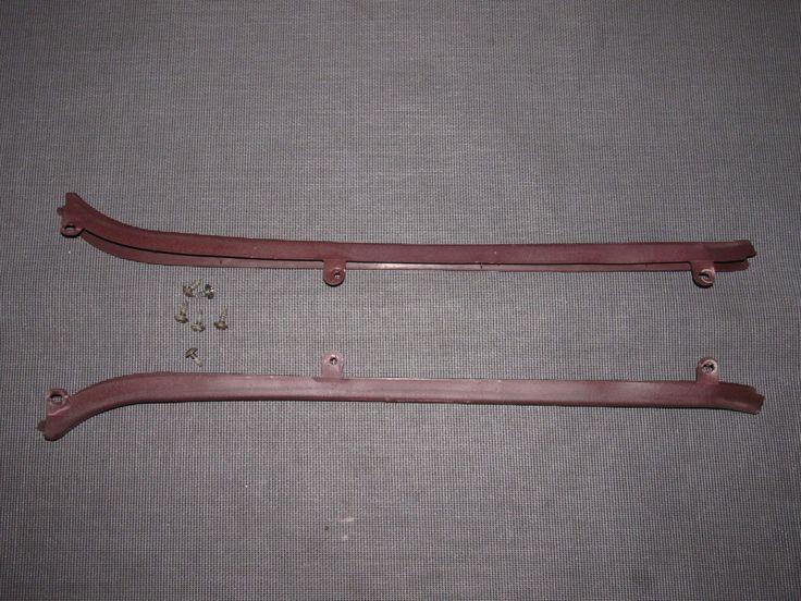 86 87 88 Toyota Supra OEM Interior Door Belt Line Moulding