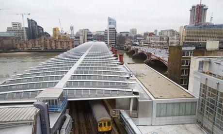 Blackfriars station solar panels