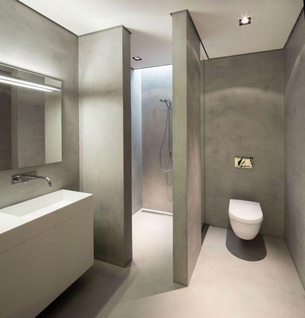 Inspiratie: minimalistisch moderne villa in Huizen