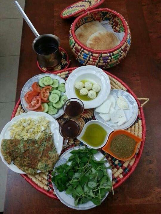 Lebanese Breakfast.