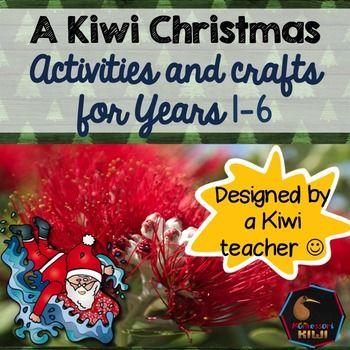 New Zealand / Kiwi Christmas activities