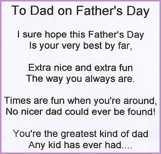 Father's Day Quotes And Poems | Father's Day Gift Ideas