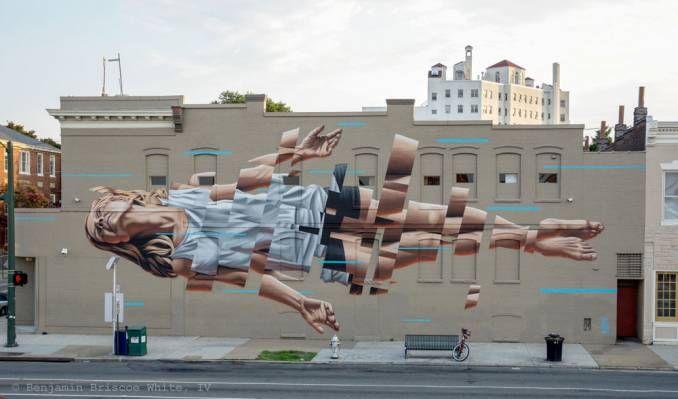 """Foat"" James Bullough // Richemond, 2015 #streetart #arturbain #street #graffiti"