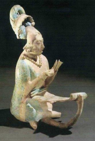 Mayan goddess Ix-Chel Jaina,Campeche,Mexico