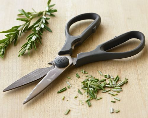 Kitchen shears can be a very handy tool to have around the kitchen