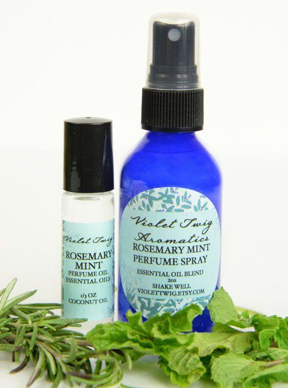 Organic Rosemary Organic Rosemary Perfume by VioletTwigAromatics