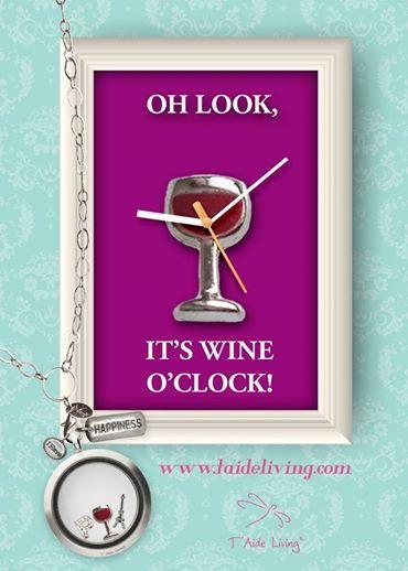 Wow, it's already wine o'clock!