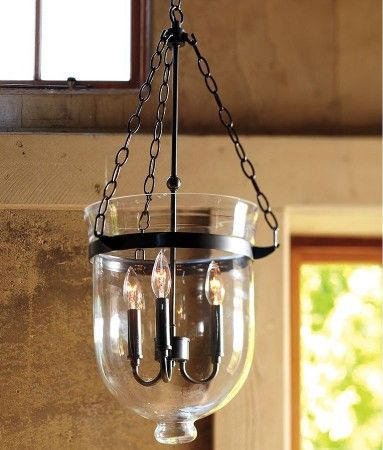 Atos black 3 light pendant with clear glass globes included